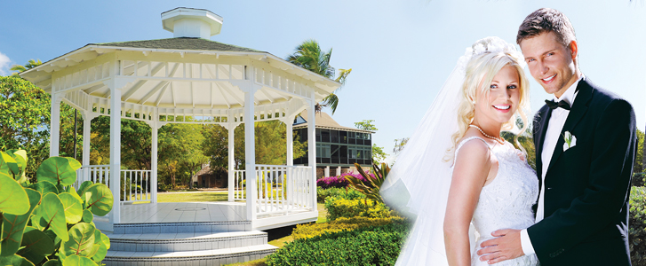 The Ideal Setting for Weddings in Paradise...